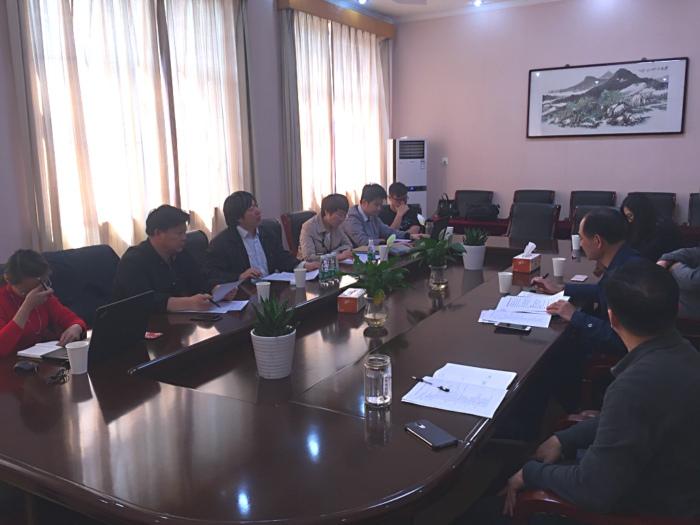 中国编辑学会网络编辑专业委员会领导来我校指导大赛工作